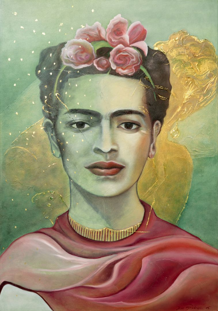 Frida Kahlo Goldkopf